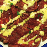 Карпаччо из говядины с соусом рецепт приготовления