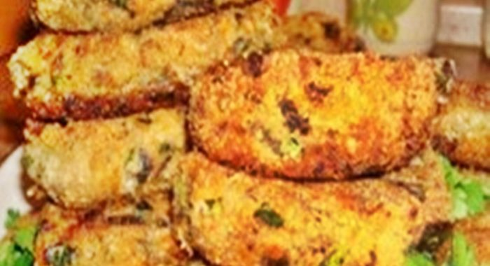 Котлеты из баклажан рецепт приготовления