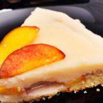 Персиковый пирог рецепт приготовления