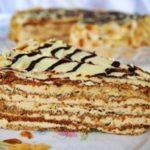 Торт с ромом на молоке Эстерхази рецепт приготовления
