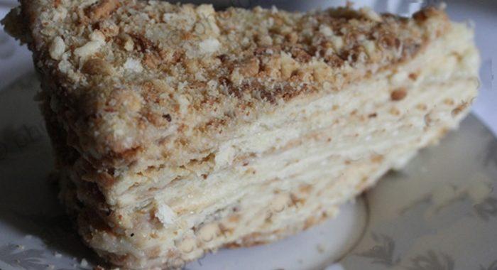 Торт наполеон классический рецепт в домашних условиях с фото