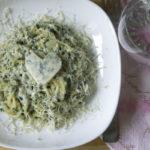 Паста со шпинатом рецепт приготовления