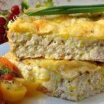 Французский пирог с кабачками и сыром рецепт