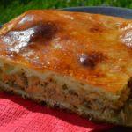 Рыбный пирог с сыром на молоке рецепт