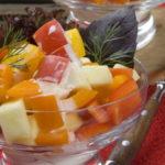 Салат из яблок и болгарского перца «По-грузински» рецепт