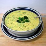 Сырный суп с брокколи и со сливками рецепт