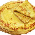 Блинчики – простой рецепт (бездрожжевое тесто)