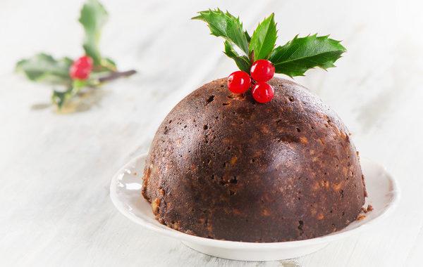 Грибной пудинг «Рождественский» с остролистом рецепт