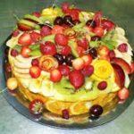 Торт со сливой и лимонным соком