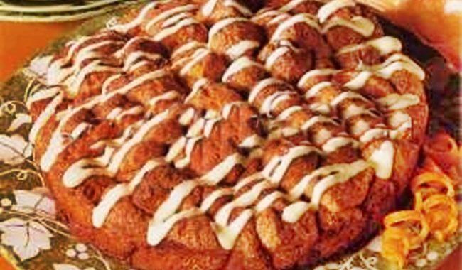 Дрожжевой пирог в духовке из шариков рецепт приготовления