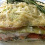Лазанья из кабачков рецепт приготовления