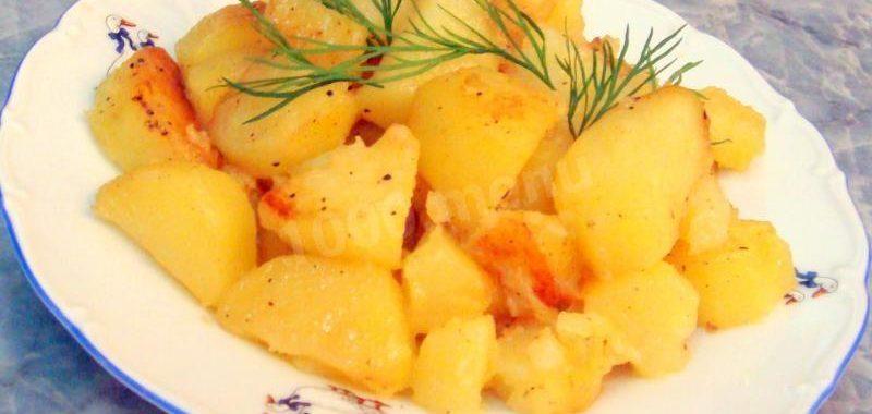 Способы приготовления картофеля в мультиварке
