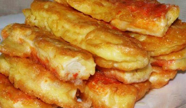 Крабовые палочки в кляре с сыром рецепт