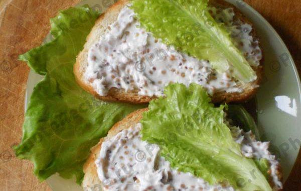 Легкий бутерброд рецепт приготовления