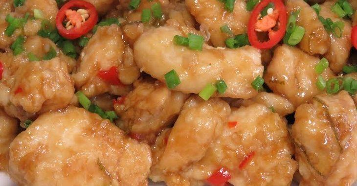 Курица под соусом из экзотических фруктов рецепт