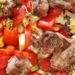 """Индюшачьи """"язычки"""" с овощами рецепт приготовления"""