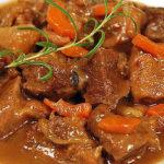 Тушеная говядина в кисло-сладком соусе рецепт