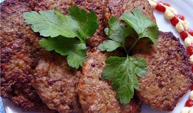 Котлеты из свиной печени с картошкой рецепт