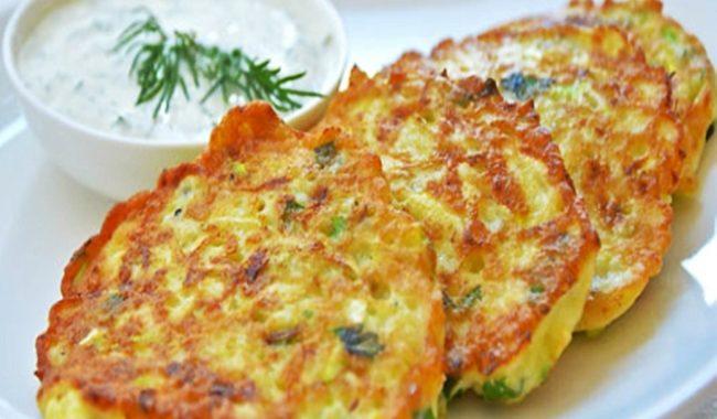 Оладьи из кабачков и картофеля рецепт приготовления