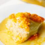 Перец фаршированный куриным фаршем и рисом рецепт
