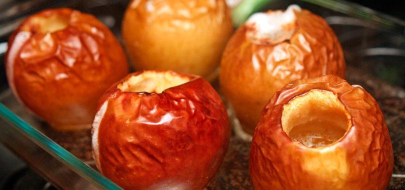 Запеченные яблоки в духовке Рецепт приготовления
