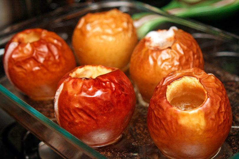 Запеченные яблоки для диеты