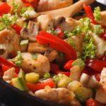 Блюдо из индюка с овощами рецепт приготовления