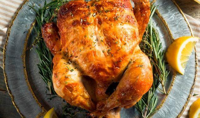 Курица с лимоном в духовке рецепт приготовления