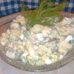 Селёдочный салат Оливье