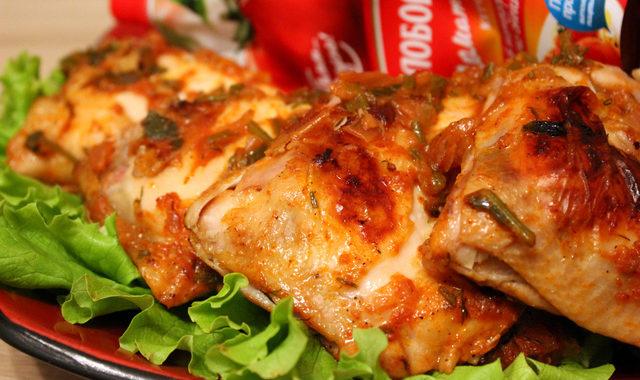 Куриные окорочка «пикантные» рецепт приготовления