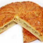 Рыбный пирог на скорую руку на кефире из сайры рецепт