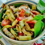 Салат из кабачков с грибами рецепт приготовления