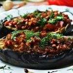 Баклажаны по-турецки с фаршем в духовке рецепт приготовления