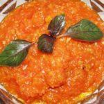 Кабачковая икра с помидорами, болгарским перцем и морковью рецепт