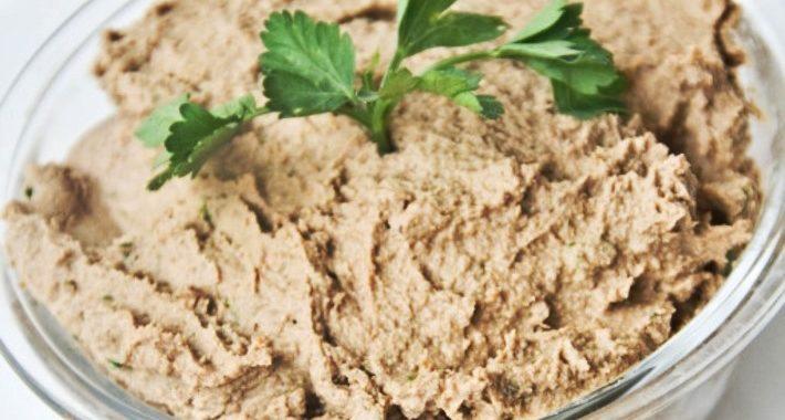 Печеночный паштет рецепт приготовления