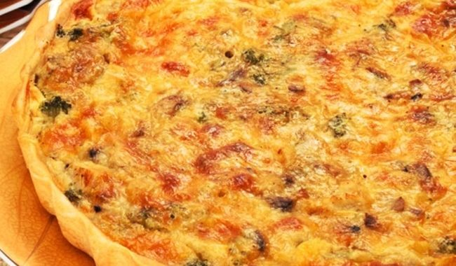 Пирог с курятиной и томатами рецепт приготовления