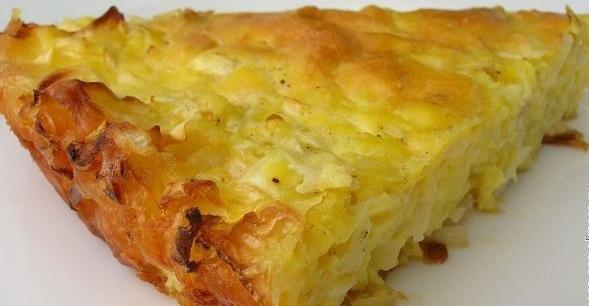 Капустный пирог с сыром в духовке рецепт приготовления