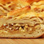 Дрожжевой пирог с капустой в духовке рецепт приготовления