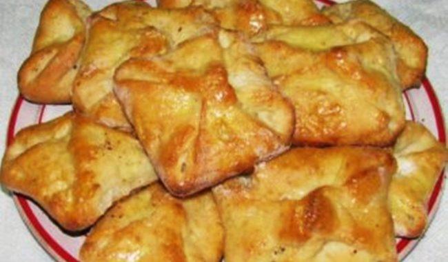 Дрожжевые конвертики с персиком и маком рецепт приготовления