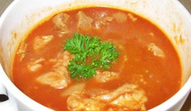 Французский суп-гуляш с луком рецепт приготовления