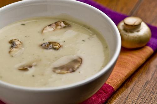 Суп-пюре из сушеных грибов рецепт приготовления