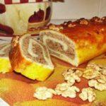 Ореховый рулет рецепт приготовления