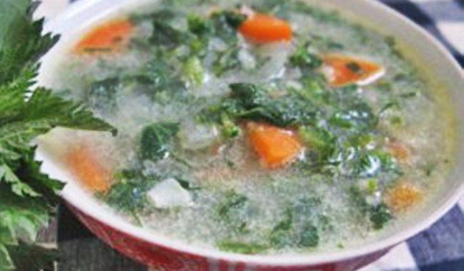 Суп из молодой крапивы рецепт приготовления