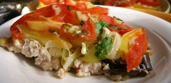 Овощная запеканка с фаршем в духовке рецепт приготовления
