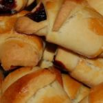Вишневые рогалики рецепт приготовления