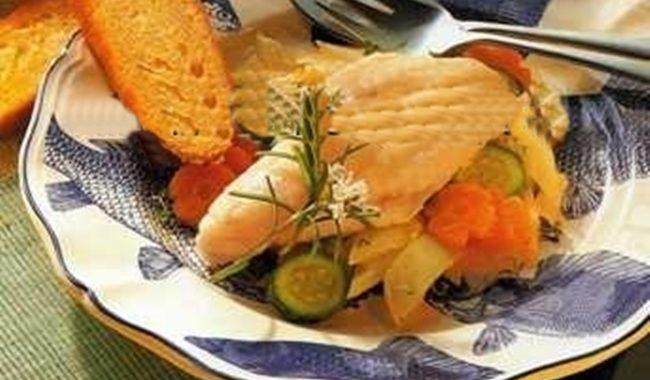 Рыбное филе на пару рецепт приготовления