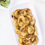 Картофель с чесноком в духовке рецепт приготовления
