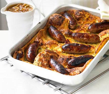Британские колбаски в тесте рецепт приготовления