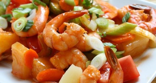 Креветки с овощами рецепт приготовления