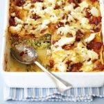 Лазанья из кабачков с сыром в духовке рецепт приготовления